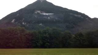 Oberaudorf Germany  City new picture : Train from Flintsbach to Oberaudorf, Germany
