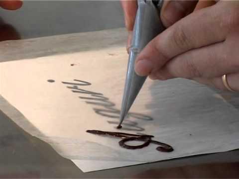 Scritte di cioccolata per torte @ Benvenuti a Tavola 08.07.2011