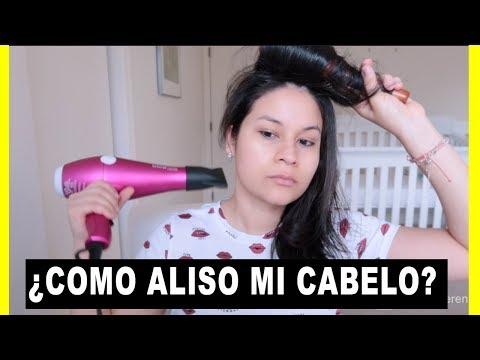 Videos caseros - COMO ALISO MI CABELLO SIN PLANCHA l Corina Ceren