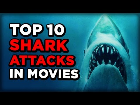 Scary sharks attacks