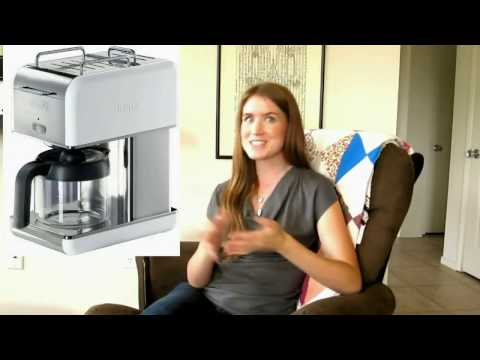 Review Christina's DeLonghi Kmix 10 Cup Drip Coffee Maker