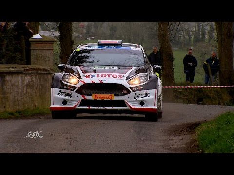 Circuit of Ireland Rally 2015 - Kajetanowicz Report LEG2