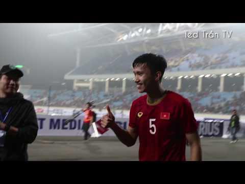 Không khí tuyệt vời tại sân Mỹ Đình sau trận đại thắng U23 Thái Lan của thầy trò HLV Park Hang-seo - Thời lượng: 17 phút.