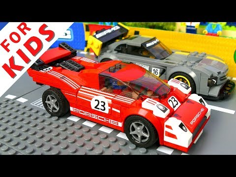 Lego speed champions race