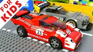 Video LEGO Cars Race and Experimental Cars Compilation Lego Stop Motion Animation MP3, 3GP, MP4, WEBM, AVI, FLV Juni 2018