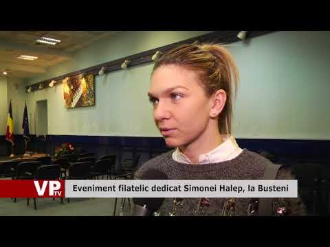 Eveniment filatelic dedicat Simonei Halep, la Busteni