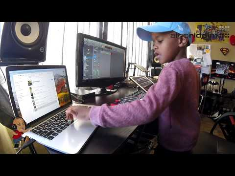 Watch DJ Arch Jnr Create a Happy Birthday Song Using Logic Pro  (6yrs old)