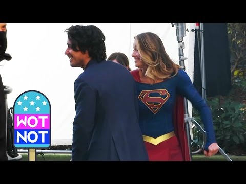 Supergirl Actress Melissa Benoist Dances In Between Takes!