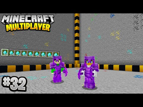 BIGGEST MINING PROJECT in Minecraft Multiplayer Survival! (Episode 32)