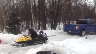 10. Ski doo skandic vs Ford Junk