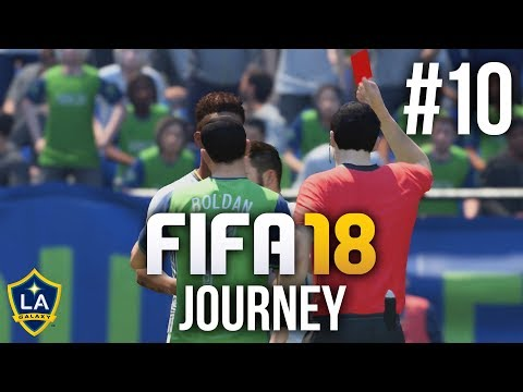 FIFA 18 The Journey Gameplay Walkthrough Part 10 - RED CARD (Full Game)