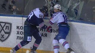 Plotnikov hit on Kosov breaks glass
