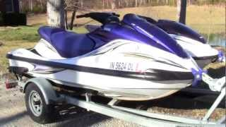 9. 2005 Yamaha FX Wave Runner 4-stroke jet ski walk-around video