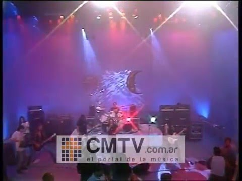 Rata Blanca video Abrazando al rock and roll - CM Vivo 1996