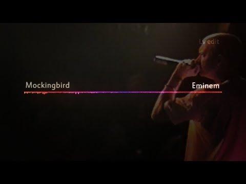 Eminem - Mockingbird [Lyrics video]