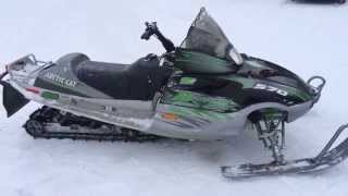 10. ARCTIC CAT MOUNTAIN CAT 570 1M