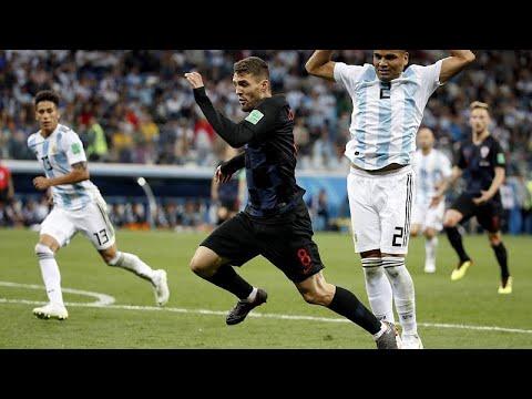 Η Κροατία ισοπέδωσε την Αργεντινή