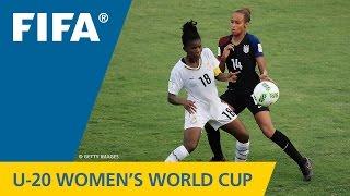 Video MATCH 22: USA v GHANA - FIFA Women's U20 Papua New Guinea 2016 MP3, 3GP, MP4, WEBM, AVI, FLV November 2018