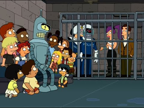 Futurama | Season 3 ,Episodes 9  : The Cyber House Rules Part 2/2
