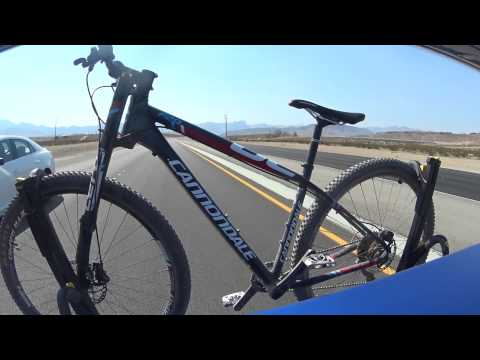 Saris SuperClamp 2 Bike Rack Road Stability Test on a Subaru STi