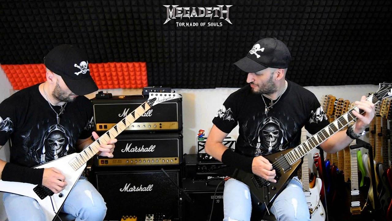 Tornado of souls – Megadeth guitar cover