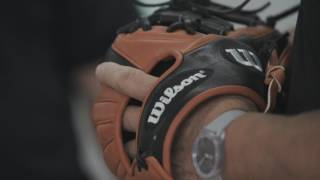 For nearly 40 years, Wilson Glove Master Craftsman Shigeaki Aso has applied his love for ball gloves by designing the glove of choice for the best players in the world, and then some. He works with players at every level, gathering feedback and information to help craft the most innovative and extensive line of ball gloves in the game.  As his designs continue to advance, he's become the most respected figure in the industry.