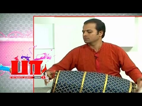Paa   Guru Raghavendra  Mridangam artiste