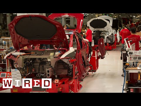 Incredible Production: Behind the Scenes of the Tesla S!