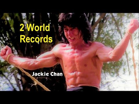Jackie Chan World Records