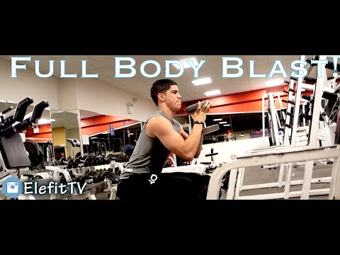 Full Body Bodybuilding Workout !