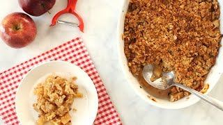 Easy-To-Make Apple Crisp - Everyday Food with Sarah Carey by Everyday Food