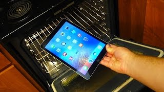This week we had another crazy adventure in Brandon's kitchen. We tested how much temperature an iPad can withstand before completely being destroyed by ...