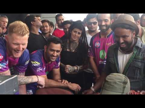 IPL 2017 Dhoni, Virat Dancing   JIO Dhan Dhana Dhan Ad Making, Must Watch