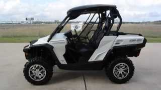 7. Used 2013 Can Am Commander 1000 Limited