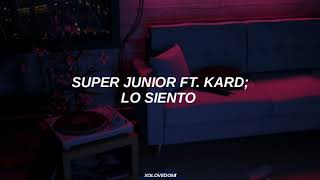 Video Super Junior Ft. Kard - Lo Siento // Sub Español MP3, 3GP, MP4, WEBM, AVI, FLV April 2018