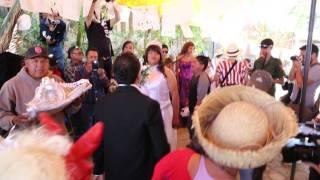 la boda en el carnaval de San Martin Tilcajete