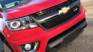 The award winning Chevrolet Colorado is a new mid-size offering that fits between a compact and a full size truck with power under the hood, and several available features that include 4WD.If you like what you see, subscribe to see the new videos and let your friends know, but if you don't like what you see let us know.