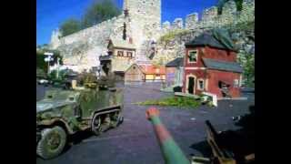 Olmedo Spain  City new picture : panzertreff Olmedo (Spain) 26-05-2012- video 12 paseo sobre Panther