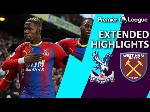 Video: Crystal Palace v. West Ham   PREMIER LEAGUE EXTENDED HIGHLIGHTS   2/9/19   NBC Sports