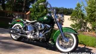 4. 2013 Harley-Davidson Softail Deluxe FLSTN - Harley Davidson Motorcycles For Sale