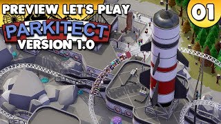 Parkitect 1.0 - Preview Let's Play • #001 [Deutsch/German][Gameplay]