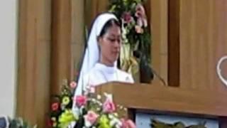 "Video ""Mazmur antar bacaan"" Misa Syukur Pesta Perak & Emas & Ikrar Profesi Kekal suster Charitas MP3, 3GP, MP4, WEBM, AVI, FLV April 2019"