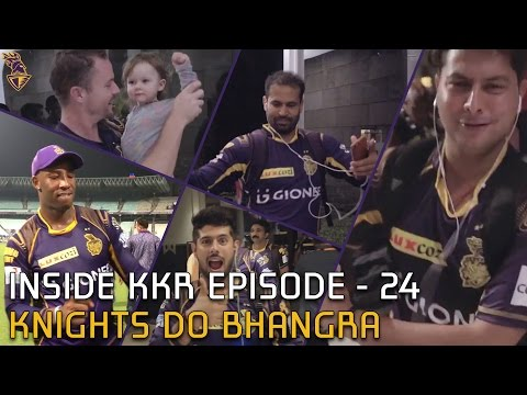 Knights Do Bhangra on Tunak Tunak Tun | Inside KKR - Episode 24 | VIVO IPL 2016