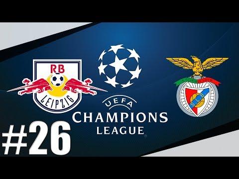 FIFA 17 | RB Lipsko-Benfica Lisabon | Liga Mistrů-Semifinále! | Kolaps!| PART 26 | XBOX ONE | CZ/SK