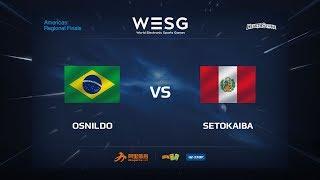 SetoKaiba vs Osnildo, game 1