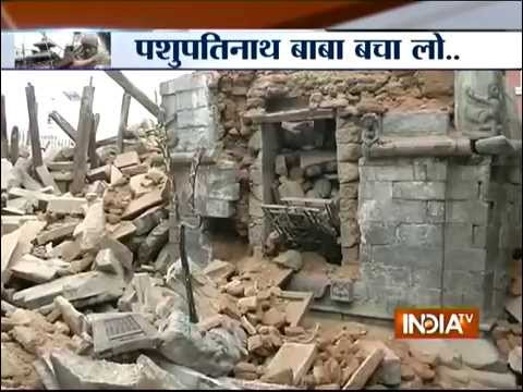 Video Miracle? Pashupatinath Temple Remains Unharmed in Nepal's Earthquake - India TV download in MP3, 3GP, MP4, WEBM, AVI, FLV January 2017