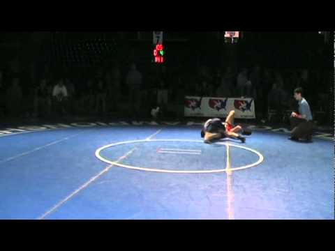 Junior Freestyle 7th 105 – Jarred Oftedahl (MN) vs. Adam Burchett (WA)