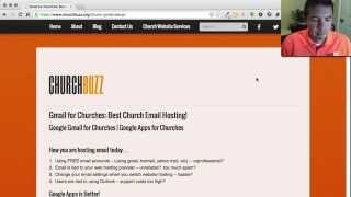 Gmail for Churches and Google Apps for Churches full download video download mp3 download music download