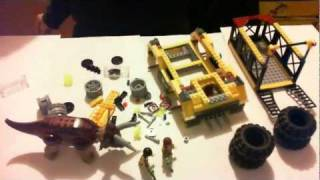 Lego Dino 2012 5885 Triceratops Trapper Time Lapse Buiilding