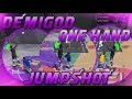 100% GREEN JUMPSHOT NBA 2K18! BEST ONE HAND JUMPSHOT FOR ALL ARCHETYPES! CUSTOM JUMPSHOT NBA 2K18